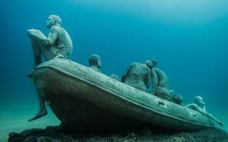 水下世界:欢迎来到欧洲首座水下雕塑公园