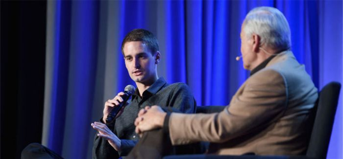 Snapchat创始人评论年轻人和媒体的几句话