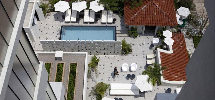 这个有欧洲风格的墨西哥酒店:简约但是绝不冷淡