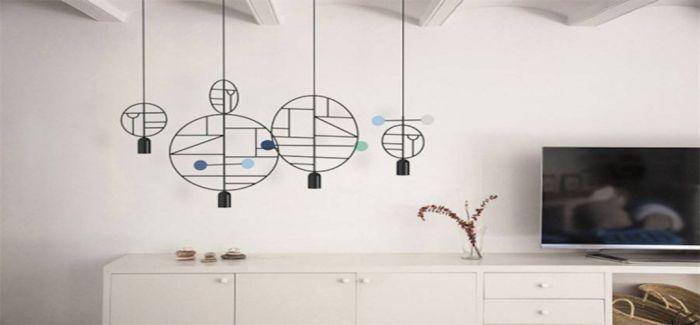 当家里装上这一盏灯 开始艺术化的思考