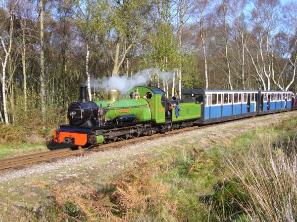 小小火车头瑞克斯原型瑞福·艾斯克(上),柏特原型瑞福·厄特(中),迈克原型瑞福·迈特(下) 此外,系列中另一本由克里斯托弗·奥德瑞写的关于新火车头乔克(Jock)的书,其原型即是这条线路上的第四辆火车头——诺森·罗克(Northern Rock)。