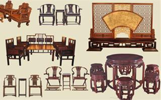 现代人钟情仿古红木家具