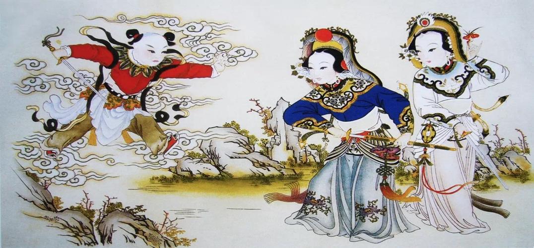 """2016年的春节从腊月二十三的小年夜开始到今天我们已经能感觉到浓浓的节日气息了。在这传统佳节里,""""凤凰艺术""""带您在准备年货,吃饺子的期间聊聊我们传统春节里的年画。  杨柳青年画 春节是汉族最重要且最隆重的传统节日。农历一年的最后一天""""大年三十""""早上家家户户都要贴对联、放鞭炮、吃饺子来迎接凌晨十二点的""""年"""",这一夜也称为""""守岁夜""""。小孩子们要向长辈拜年,长辈们也会给孩子们准备压岁钱。从小年这一天开始一直到除夕,每"""