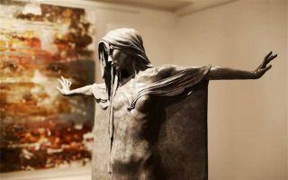 惊为天人的人体铜像雕塑:视觉捕捉到的诗意之美