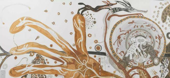 日本艺术家浅井裕介:泥土是他的颜料 整个世界是他的画布