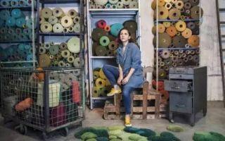 她是颜值过人的富家千金 却织出了惊艳世界的地毯