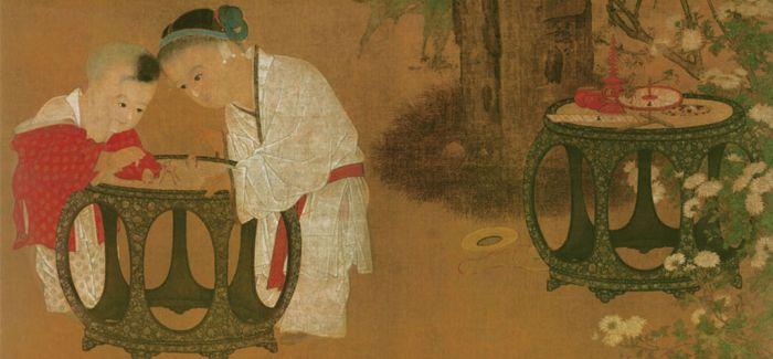 从古画中看800年前的儿童玩些什么玩具