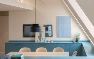 斯德哥尔摩一套色彩搭配精湛的公寓