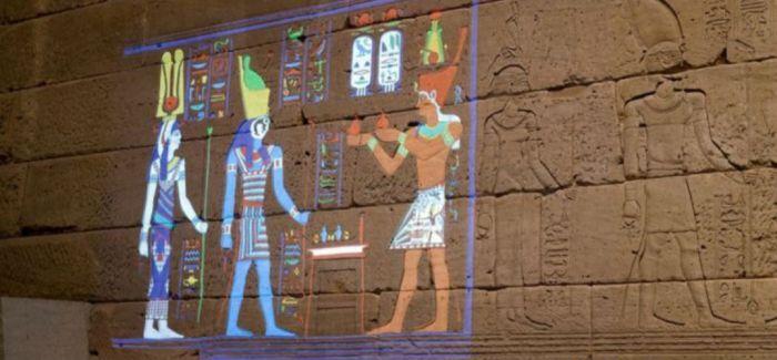 大都会博物馆神庙着色项目 再现古埃及遗忘的光彩