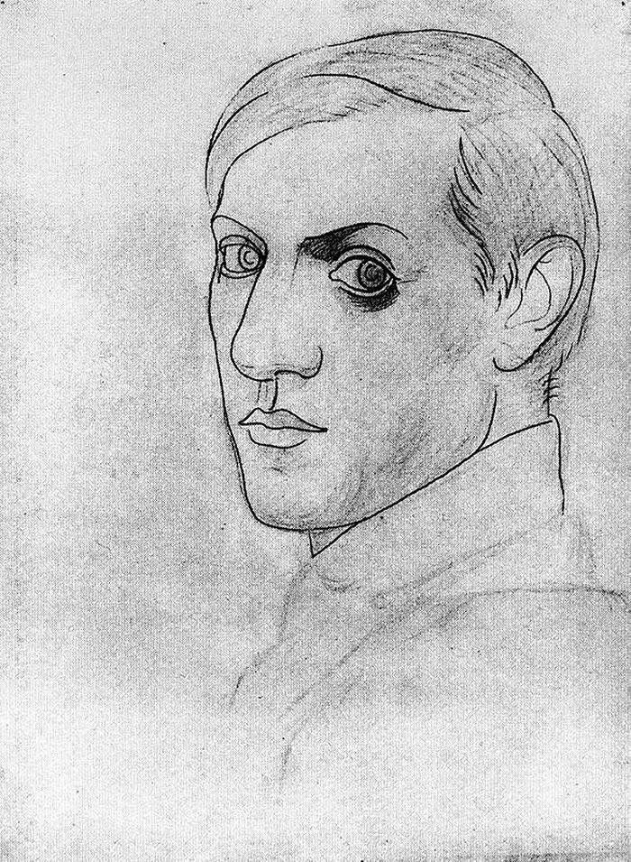 pablo-picasso-self-portraits-chronology-12