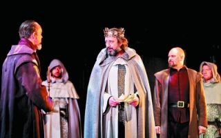 """莎士比亚戏剧""""王与国""""三部曲 国家大剧院拉开序幕"""