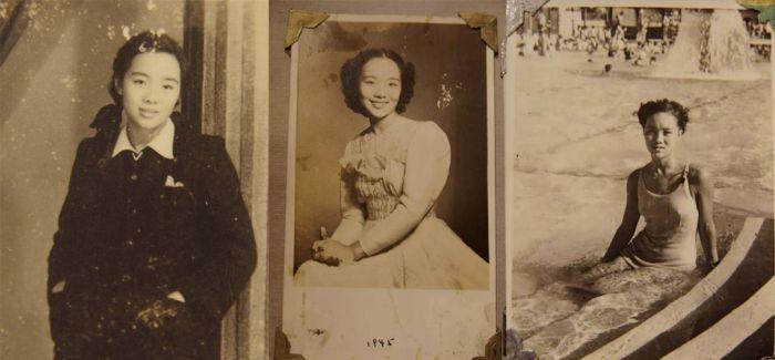"""那些年的""""纯天然""""美:老照片中的民国无名女神"""