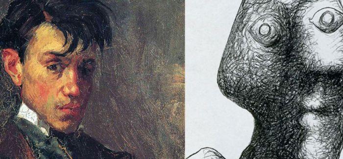 从15岁一路画到90岁:毕加索的自画像进化论