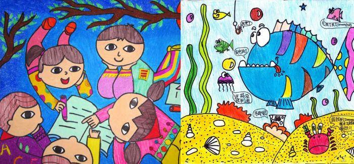 艺术 美育 欣赏和珍惜 聊聊儿童画的那些事儿