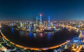 航拍上海的夜景与白天的风光摄影  感受大城市的美