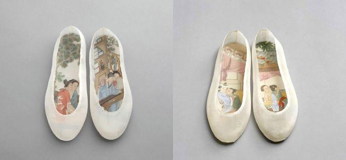 你不曾见过的中国风帆布鞋:将世俗隐于端丽外壳之内