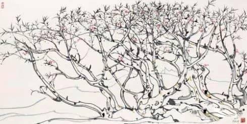 吴冠中笔下春天的树 怎么可以这样美?