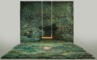 有山有水有草有树  阿根廷自然风光地毯
