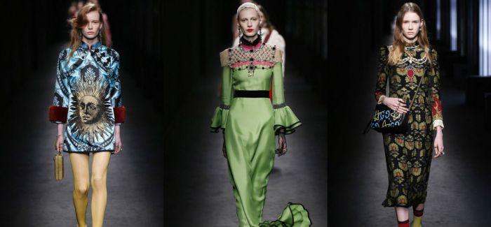 米兰时装周  Gucci:眩晕的快感