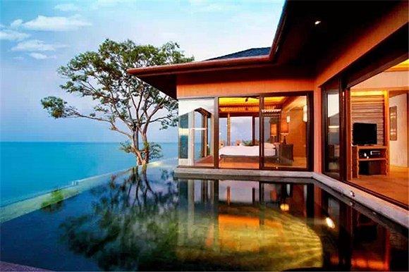 旅游  酒店位于普吉岛另一个隐僻之处——攀瓦角,普吉东海