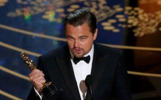莱昂纳多获奥斯卡最佳男主角 致辞称得奖非理所当然