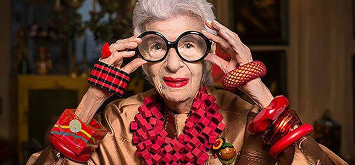 这位94岁混搭奶奶  现成为了澳洲潮牌的代言人