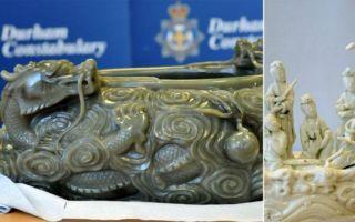 闯入英国东方博物馆盗中国文物 14名窃贼被定罪