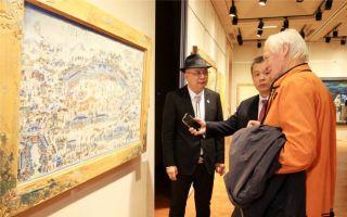 【图说内蒙】草原丝绸之路艺术作品香港上市
