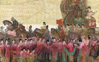 王明明《丝绸之路》赏析