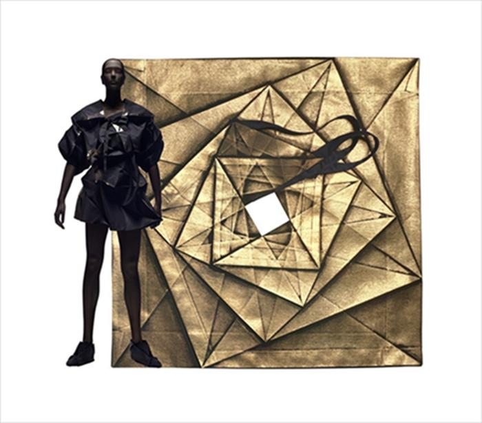 折叠服装设计图