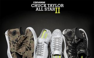 CONVERSE 终于给 Chuck Taylor All Star II 换新装了