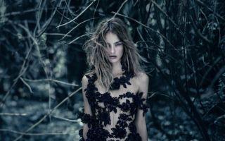 McQueen Parfum:订制夜晚盛开的黑色女人