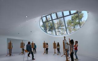 """""""有机画室"""":伯恩茅斯艺术大学艺术系画室"""