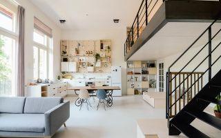 阿姆斯特丹有一间由旧教室改造成的公寓