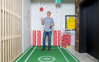 Airbnb 悉尼办公室 Airbnb office in Sydney  舒服到完全无法工作了