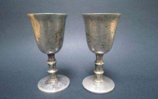 藏宝国西洋古董银酒杯的鉴藏