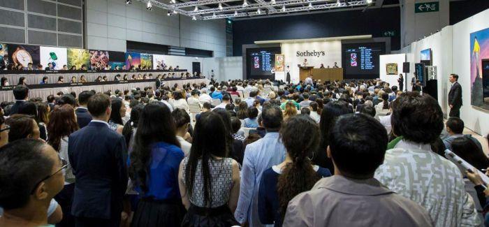 香港下月拍卖张大千晚年最重要泼墨名作《桃源图》