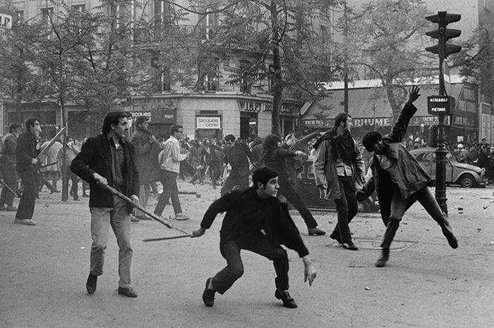 Bruno Barbey, 1968, Paris @SCoP