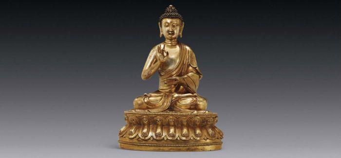 藏家4500万拍下三座明代佛像  刷新同类拍品纪录