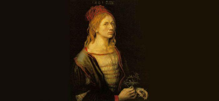 德国画家丢勒作品《二十二岁的自画像》赏析