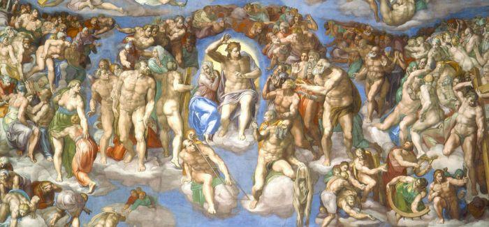 米开朗基罗壁画作品《最后的审判》赏析