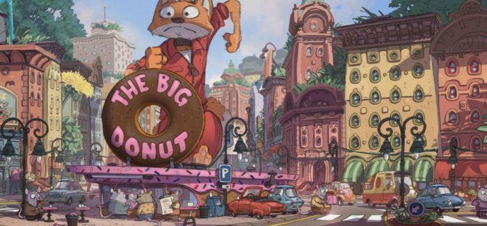 电影《疯狂动物城》很精彩   概念草图也很漂亮