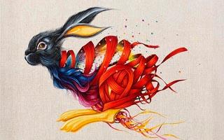她用细腻的笔触画出充满想象力的动物世界