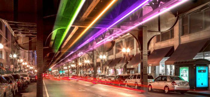 沃巴什灯——繁华的芝加哥