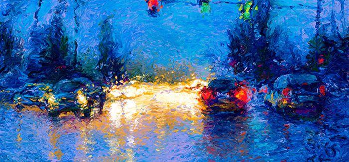 画家Iris Scott:用颜料触摸这个世界