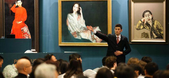 中国艺术品市场份额全球第三