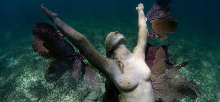 水下的美丽姿态!Jason decaires Taylor的海底博物馆