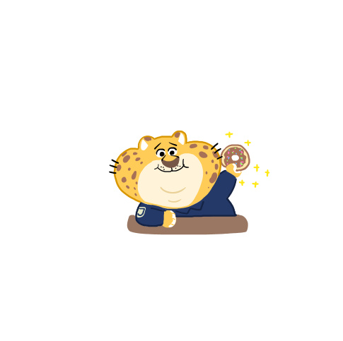 大绵羊bobo的《疯狂动物城》手绘萌系卡通微信头像