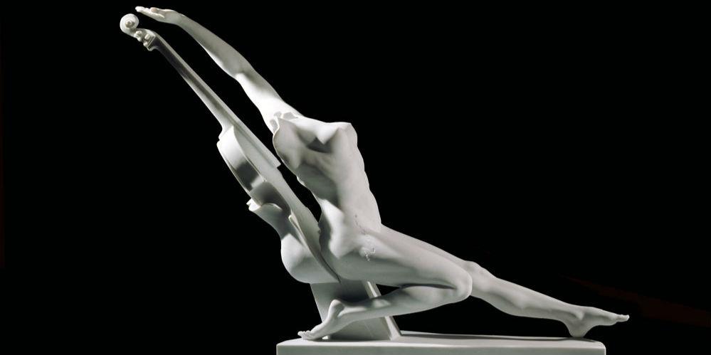 安娜·高美雕塑艺术展:室内雕塑作品一览