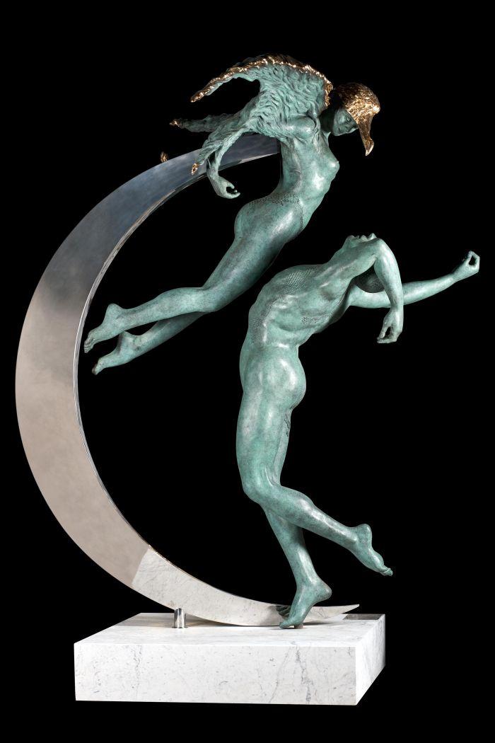 翠鸟(阿尔塞)大件雕塑